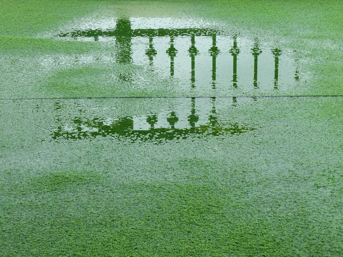 artificial grass flood
