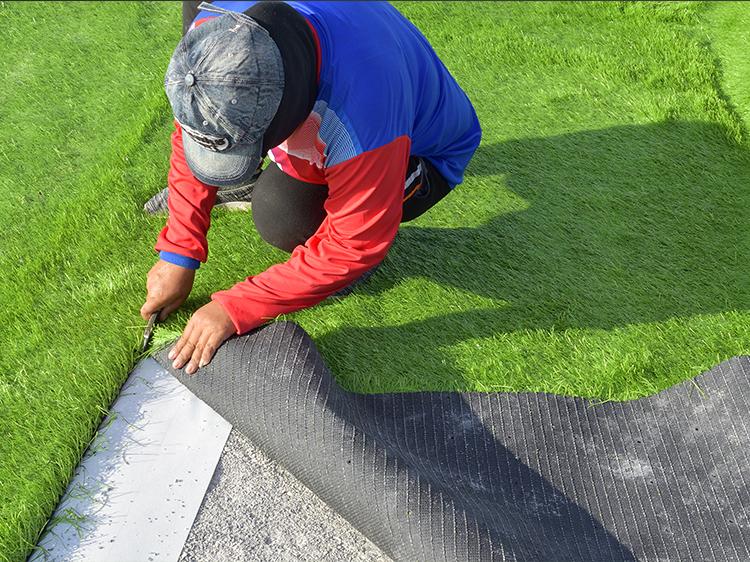 Artificial Grass Installation Reducing Water Contamination