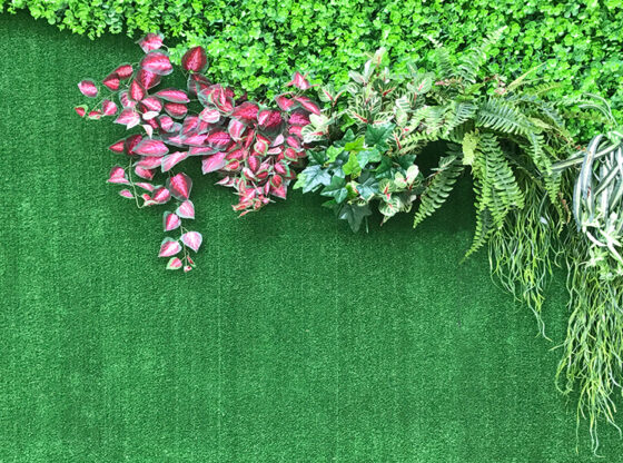 Beautiful Synthetic Plant Walls
